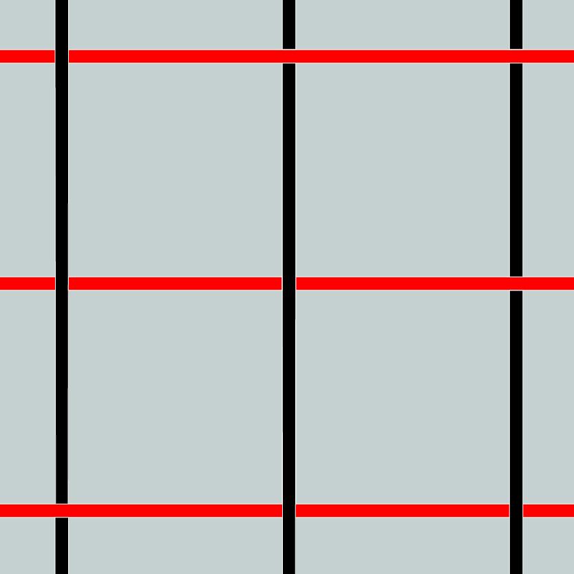 Maille tissée inox carrée croisée