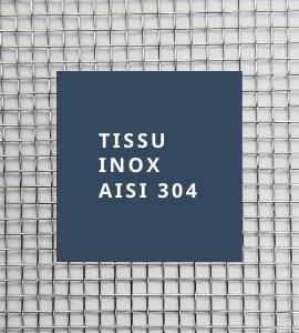 Tissu inox AISI 304