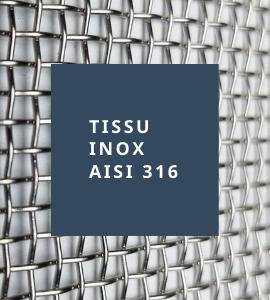 Tissu inox AISI 316