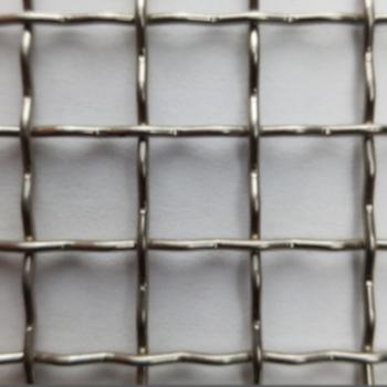 Maille tissée inox de criblage à double ondulation